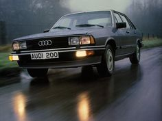 Audi 200 Turbo, imagine one with L Plates on it, learned to drive in my Dads back in the 80's.