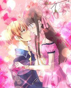 Kyo Manga, Anime Manga, Anime Art, Manga Girl, Fruits And Vegetables Images, Fruits Images, Fruits Basket Manga, Anime Couples Manga, Cute Anime Couples