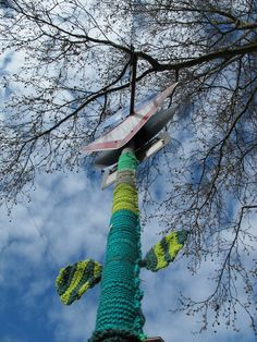 Urban Knitting Goetheplatz | rausfrauen
