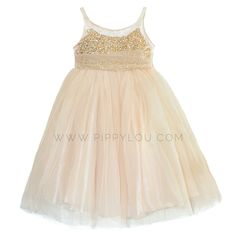 Glitter Gown- Jr. bridesmaid dress for Kailey