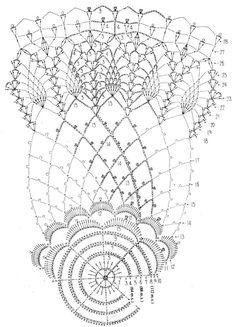 Crochet Art: Crochet Tablecloth Pattern - Gorgeous Crochet Lace