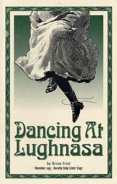 lughnasa | Dancing at Lughnasa program cover