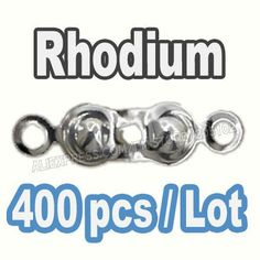 400pcs/lot NICKLE FREE Cord End Cover Connectors to link Clasp for Necklace Bracelet chain DIY Jewelry Findings Accessories