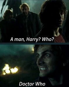 Harry Potter plus Doctor Who :))