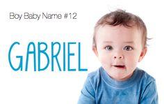 baby names: Gabriel