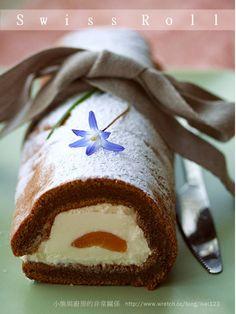 卡布奇諾咖啡奶凍捲—綿軟香滑 | 小熊與廚房的非常關係