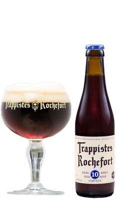 ROCHEFORT 10 Rochefort 10 is een van s Werelds beste speciale bruinbieren. De Rochefort Trappist 10 is krachtig van smaak. Beschikt over een fruitig en bruin karakter mede door het alcoholpercentage van 11,3 procent. Heeft een bitterzoete afdronk. Lekker om te drinken bij rood vlees, gevogelte en stevige ovenschotels. https://bierrijk.nl/rochefort-10