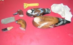 Patos para restaurar Furniture Restoration, Ducks, Objects, Wood