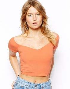 ASOS+Crop+Top+with+Sweetheart+Neck+and+Off+Shoulder