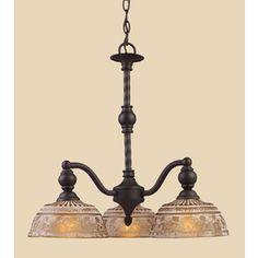 Westmore Lighting�3-Light Norwich Oiled Bronze Chandelier