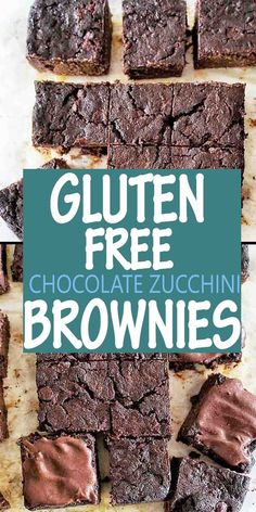 Healthy brownies packed with zucchini are oven baked to perfection. Easy recipe with or without icing. These Zucchini Brownies taste delicious! #chocolatebrownies @sweetcaramelsunday Chocolate Zucchini Brownies, Healthy Brownies, Baking Brownies, Light Recipes, Vegan Recipes Easy, Sweet Recipes, Amazing Recipes, Fun Desserts, Dessert Recipes