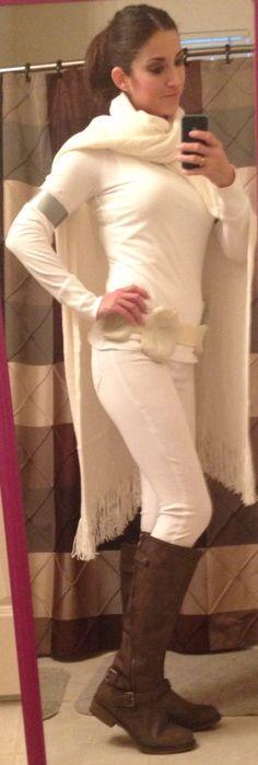 Diy Padme costume complete. Star Wars Halloween