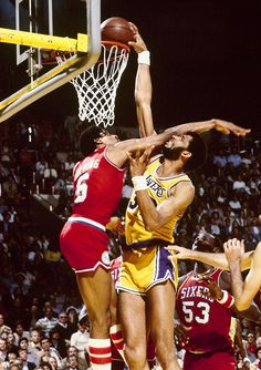 Kareem over Dr. J