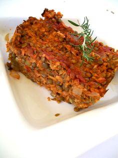 Vegan Rosemary Lentil Loaf