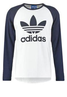 bestil adidas Originals Langærmede T-shirts - white/legink til kr 244,30 (03-02-17). Køb hos Zalando og få gratis levering.