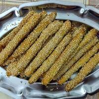Greek Desserts, Greek Recipes, Crackers, Catering, Food And Drink, Bread, Vegan, Cookies, Vegetables
