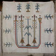 Navajo Nazlini pictoral Bedspread
