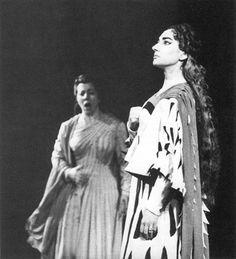 Maria Callas and Giulietta Simionato in Norma