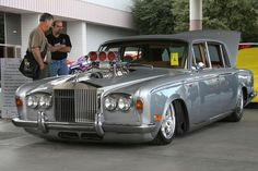 Bagged and blown Rolls Royce! My cup of tea!