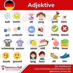 Study German, Learn German, Learn English, German Grammar, German Words, English Vocabulary Words, English Phrases, German Resources, Deutsch Language