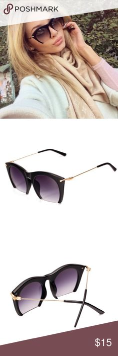 Edge Sunglasses Only 1 pair remains! • brown color • new boutique item • 💕🛍🎀 sabineforever.com for style, beauty and lifestyle finds & info Accessories Sunglasses