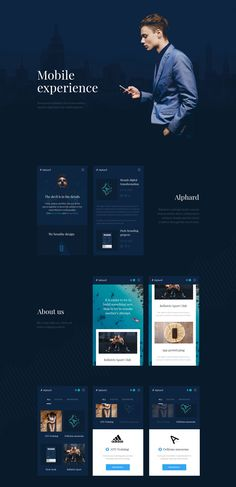 Alphard is a design studio concept that promotes direct collaboration between brands and the studio creatives through the use of tools. Ios App Design, Web Design, Mobile Ui Design, Ui Components, Mobile Web, Application Design, Web Layout, App Ui, User Interface