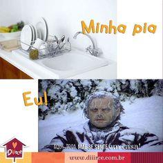 Séloko! Decreto greve de pia até esse frio acabar. #donadecasa #pialimpa #minhacasa #lardocelar #cozinha #frio #congelando #inverno