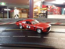 Scalextric Alan Moffat Coca Cola Ford Mustang Coke 1969 1/32 Scale Slot car