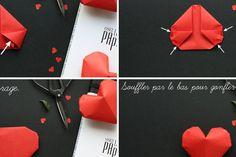 Τρισδιάστατες καρδιές από χαρτί - ftiaxto.gr