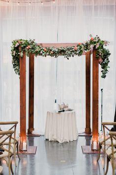 Denver chuppah colorado wedding arch rental ceremony floral decor modern elegant jewish new york city wedding junglespirit Images
