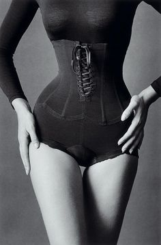 I have always loved this image...vintage lingerie, high waisted panty girdle