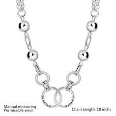 Wholsale 2014 new FASHION jewelry 925 Sterling Silver NECKLACE Penoyjewelry LKNSPCN643