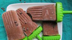 Vegan Chocolate Pudding Pops #vegan #glutenfree #paleo #popsicle #chocolate