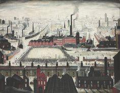 Το 1949 ο Άγγλος ζωγράφος Laurence Stephen Lowry ζωγράφισε έναν πίνακα ο οποίος λέγεται ''The football match'', και απεικονίζει έναν ποδοσφαιρικό αγώνα στην Αγγλία εκείνη την εποχή που τώρα υπάρχει στην τιμή των £ 250.