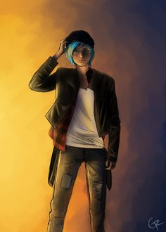 this's has got to be one of my favorite Chloe Price fan arts
