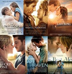 Which Nicholas Sparks Character Are You Most Like? What best selling author Nicholas Sparks romance are Netflix Movie List, Netflix Movies To Watch, Movie To Watch List, Sad Movies, Good Movies To Watch, I Movie, Movies About Love, Netflix Romantic Movies, Top Romantic Movies