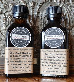 Aged Balsamic Vinegars – White Satin & Chocolate Orange | Bring this superhero duo of aged balsamic vinegars into your k... | Vinegar