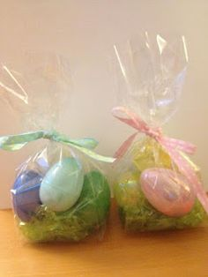 Easter goody bags for kindergarten class school time pinterest easter goodie bags negle Choice Image