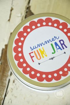 Summer fun jar!