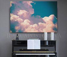 #Extra #large #clouds #painting #Cloud #LargeCanvas #BigWallArt #decor #pastelcolors #Pink #teal #art #JuliaApostolova #wallartdecor #canvasprint#sky #overlay #CloudPrint #Etsy #bedroomdecor #bedroom #CloudArt #modern #walldecor #canvasart #blue #minimalist #cozy #cosyhomedecor #homedecor #print #canvasart #CloudWallArt #nature #Prints #SkyOverlay #JuliaApostolovaArt #ArtPrint Big Wall Art, Large Canvas Wall Art, Wall Art Decor, Canvas Prints, Cosy Home Decor, Teal Art, Cloud Art, Nature Prints, Fine Art Gallery