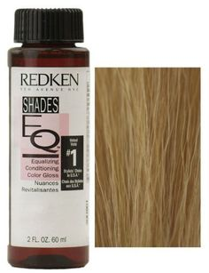 Redken Shades EQ Equalizing Conditioning Color Gloss - - Butterscotch *** To view further for this item, visit the image link. (This is an affiliate link and I receive a commission for the sales) Copper Hair, Gold Hair, Silver Hair, Silver Blonde, Redken Color Formulas, Hair Color Formulas, Redken Shades Eq, Shades Eq Color Chart, Colour Chart