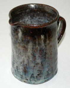 Gutte Eriksen pitcher, stoneware, own studio Denmark. H: 14 cm.