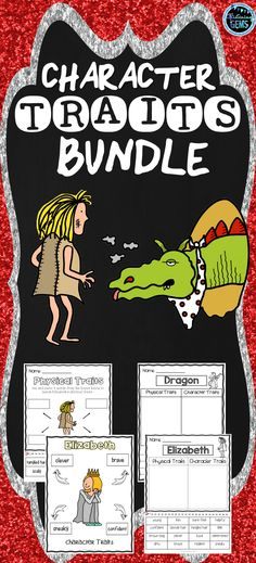 The Paper Bag Princess Activities Bundle includes character trait, physical trait & feeling activities. No prep printables, sorting activities, graphic organizers, task cards and character traits game is included in this read aloud activities pack! Character Traits Activities, Feelings Activities, Science Activities, Sorting Activities, Princess Activities, Fairy Tale Activities, Teacher Resources, Classroom Resources, 3rd Grade Classroom