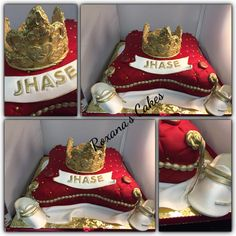 Baby Shower Cake Royalty themed