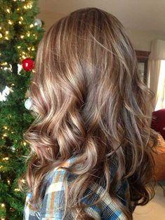 Caramel Hair Highlight Brown