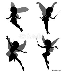 fairy silhouette simple - Google Search