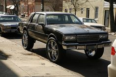 """You don't have to buy a nice car. Just get a really crappy car and dump a bunch of money into it. Invest in raising the car up. A lot. Then you can opt for the largest size rims you can afford. I like to go no smaller than 26"""". I only wish they make chrome monster truck rims. Then I could get my '85 Chevy Scottsdale off the cinder blocks and jack that sucker up. I think it would look great with the ground fx I just put in it. And yes, I did put ground fx on my truck that does not run."""