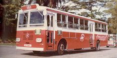 Old Singapore Bus (1970s)