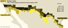 Border Matters: A Comparison of Human Development Index Scores Along the US-Mexico Border