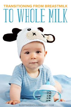 Ready to start transitioning from breastmilk to whole milk? Get the top tips on how to wean from breast feeding to whole milk at one year old. Weaning Breastfeeding, Breastfeeding Benefits, Breastfeeding Help, Breastfeeding Positions, Mindful Parenting, Kids And Parenting, Child Development Stages, Pumping At Work, Newborn Baby Care